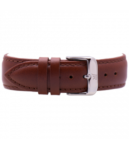 Jacques Reboul Brown Strap with Silver Buckle